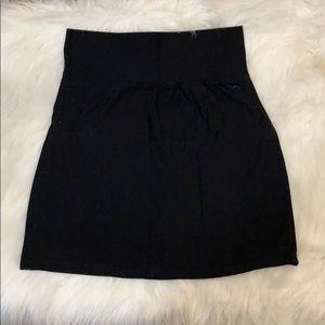 Victoria's Secret PINK bodycon black skirt
